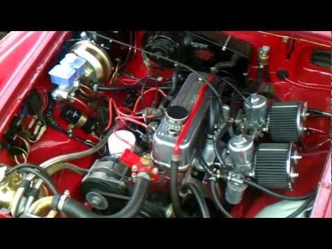 MGB engine bay refurb progress. (more to do)