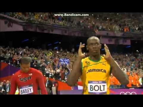 Mens 100m Final | London 2012 Olympics | Usain Bolt