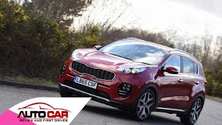 2016 Kia Sportage 1.6 T-GDi GT-Line UK review