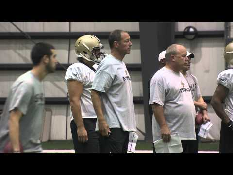 Saints Training Camp Minute 8/21/12