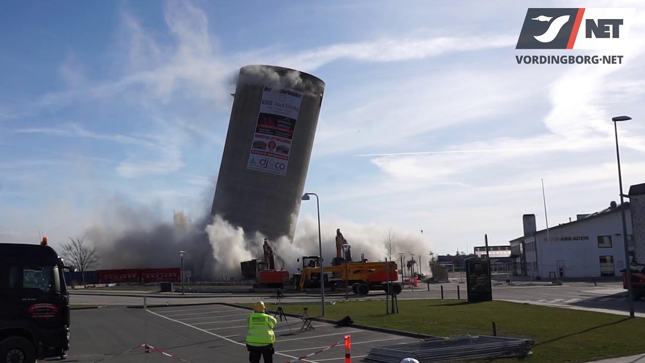 3 Silo Demolition : Silosprængning i vordingborg går galt demolition of silo
