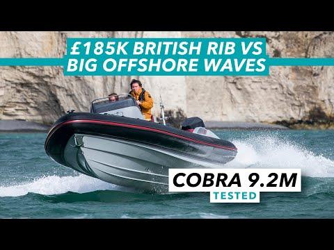 £185k British RIB vs big offshore waves   Cobra Nautique 9.2m test drive   Motor Boat & Yachting