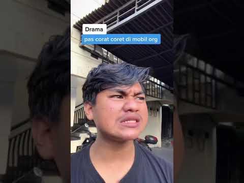 "Download Tiktok aguswahyuu || Drama pas coret"" mobil orang #shorts"