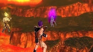 DRAGON BALL XENOVERSE - FREEZER VS GOKU Y VEGETTA #4