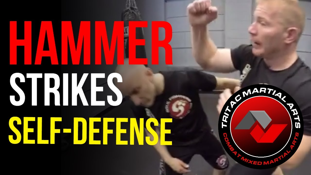 How To Use Hammer Fist Strikes For Self Defense Youtube