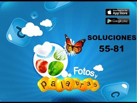 Soluciones juego facebook fotos y palras respuestas 55-81