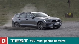 Volvo V60 T6 AWD 2019 + V60 D4 A8 - TEST - GARAZ.TV