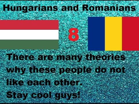European Nations Who Hate Each Other - part 1