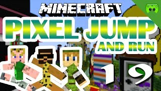MINECRAFT Adventure Map # 19 - Pixel Jump & Run «» Let