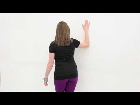 Frozen Shoulder Anterior Shoulder Stretch