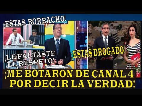 """""""ME DESPIDIERON DE AMERICA TV"""" GONZALO NUÑEZ ADMITE SER DESPEDIDO POR PELEA CON VERONICA LINARES"""