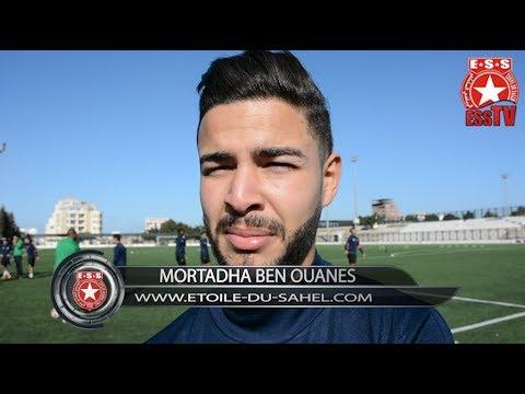 Foot - Mercato - Interview de la nouvelle recrue étoilée Mortadha Ben Ouanes