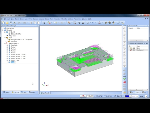 CAM Tree Groups - BobCAD-CAM Quick Tips