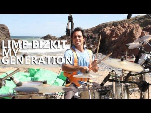 "My Generation Drum Cover - Limp Bizkit - Fede Rabaquino ""Outdoor Series"""