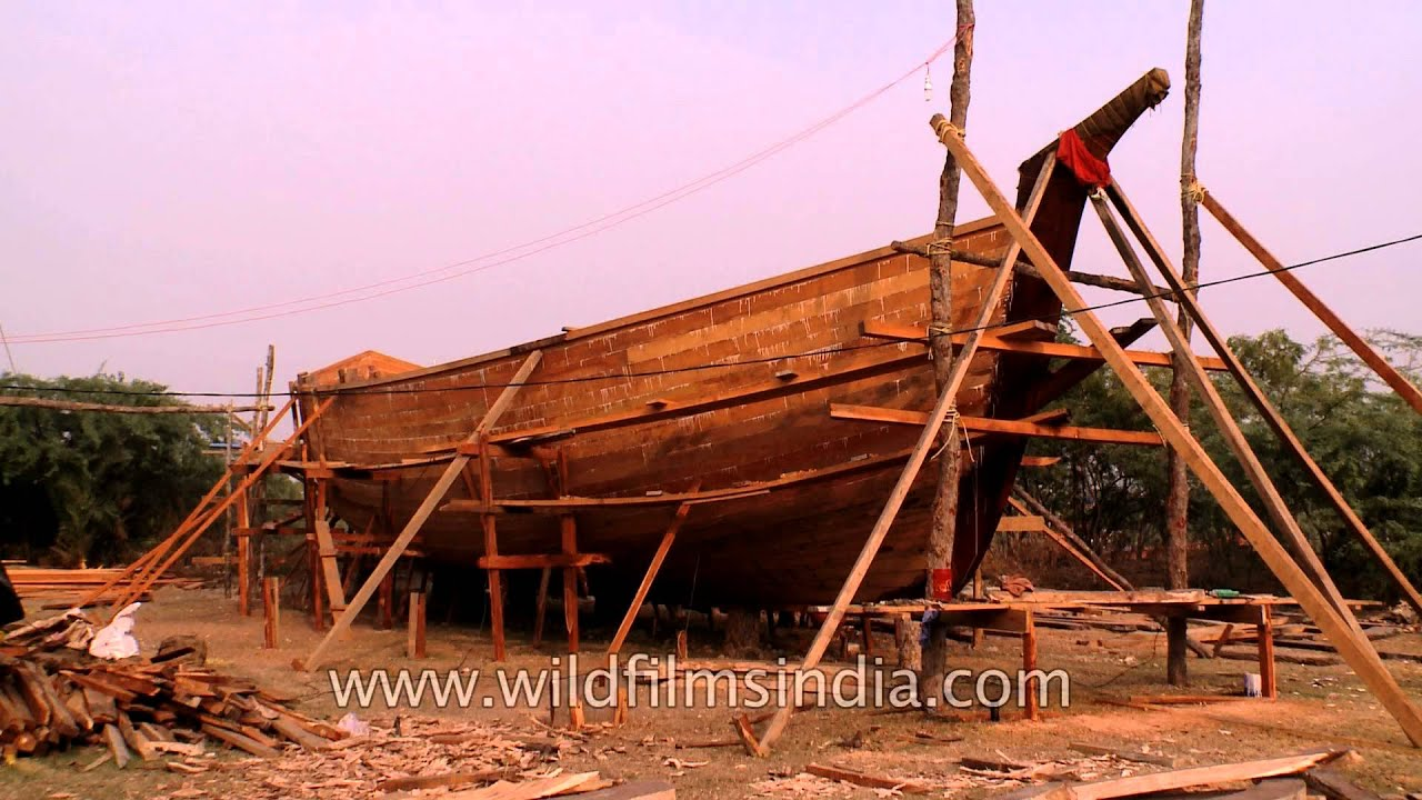 Wood - Traditional boat building material - YouTube