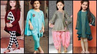 Fall Winter Frocks Designs For Little Girls/ Kids Baby Frocks Designs/Kids Casual Dresses