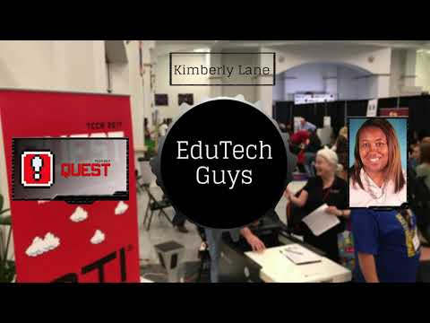 EduTechGuys at TCCA 2017 with Kimberly Lane