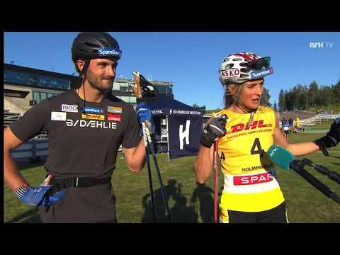 8,4 km jaktstart - Holmenkollen Skishow 2021 - Johaug vs Fossesholm