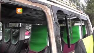 Protestors block Kericho-Kisumu Road