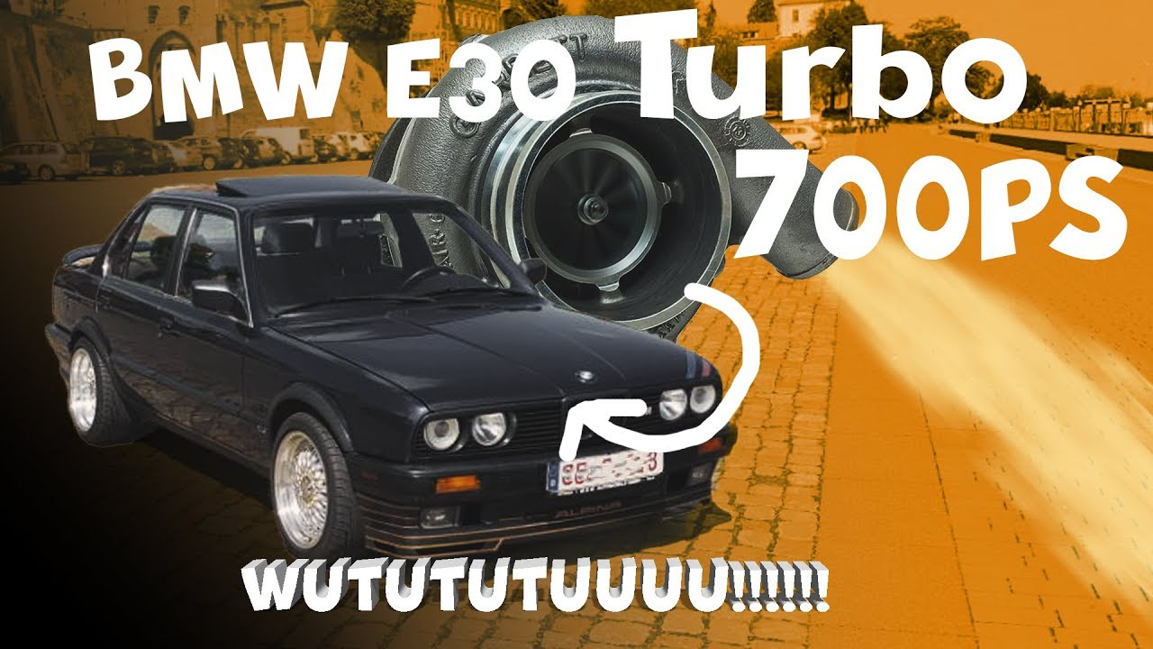 700ps Bmw E30 Turbo Gt30 Umbau Vorstellung Hlc Media Youtube