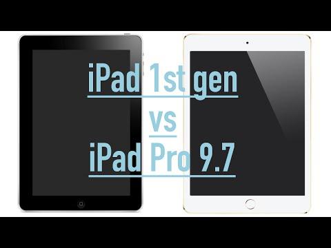 Apple Ipad Pro Vs 1st Gen Ipad