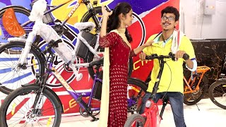Cycle Shop prank   Electric cycle prank   Battery cycle prank   Tamil prank   Orange mittai
