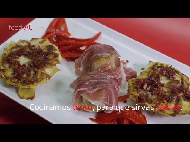 Regeneración de Flores de Alcachofa foodVAC