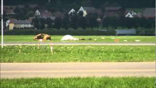 Airpower - Unfall Fallschirmspringer