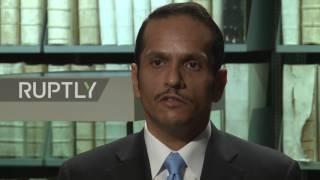 Germany: Qatari FM condemns blockade as 'collective punishment against Qatar'