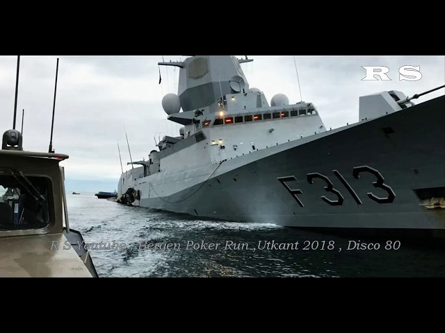 NATO  frigate crashed into oil tanker (in Norway)