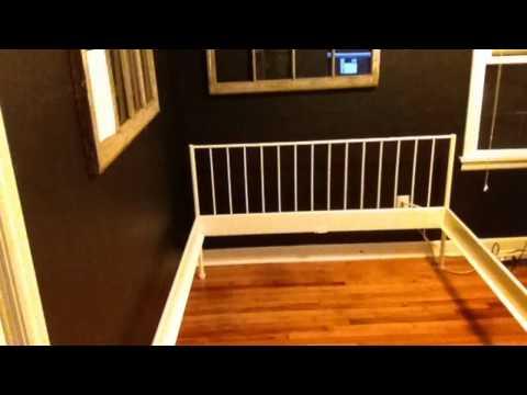Assembling my bed frame