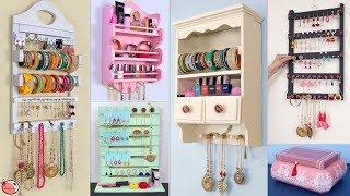 7 Ladies Jewellery Storage Hacks !!!