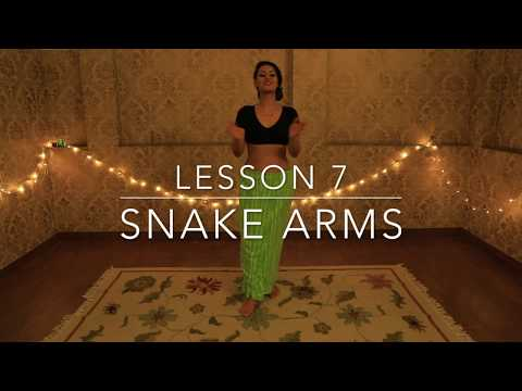 How to do SNAKE ARMS | Belly Dance Tutorial for Beginners with Meher Malik \ Lesson 7
