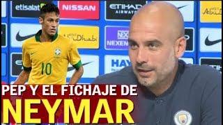 Guardiola habla del fichaje de Neymar por el PSG  Diario AS
