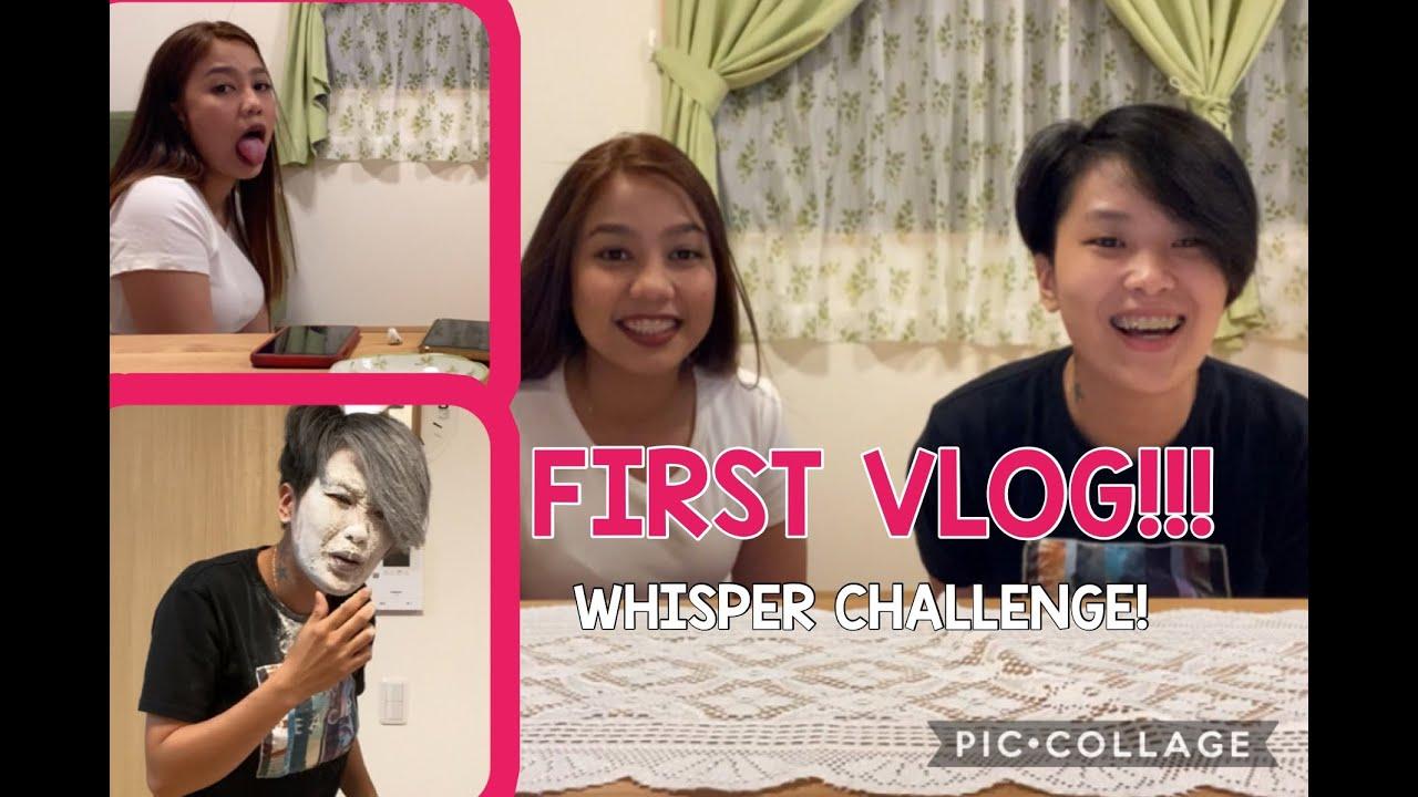 WHISPER CHALLENGE #1 VLOG