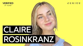 "Download Claire Rosinkranz ""Backyard Boy"" Official Lyrics & Meaning   Verified"