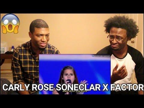Carly Rose Sonenclar X FACTOR USA 2013 Audition REACTION