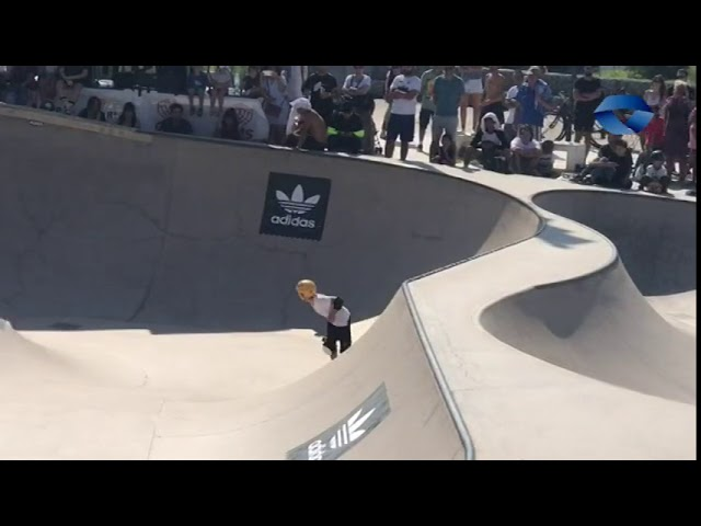 ALB 2018 10 24 BERMEO 11 urteko Ian Ponciano bermeotarra munduko skate txapelketan