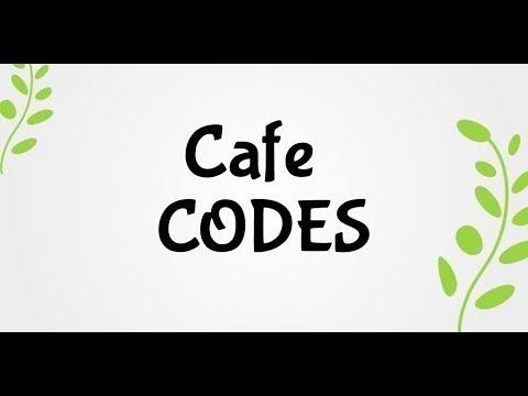 Bloxburg Cafe Codes Youtube