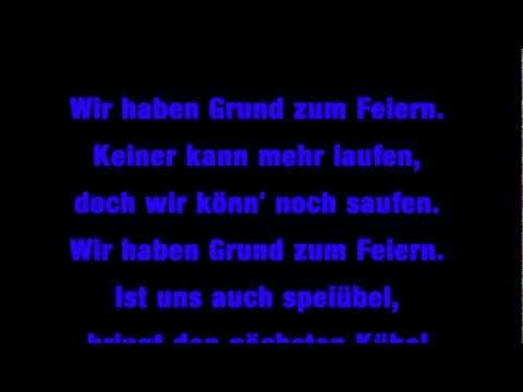 Otto Waalkes - Wir haben grund zum Feiern [Lyrics]