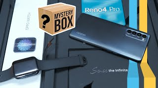 OPPO Reno 4 Pro Unboxing and OPPO Watch Unboxing - Mystery Box!