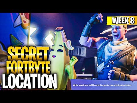 WEEK 8 SECRET BATTLESTAR REPLACED BY A FORTBYTE – Found At A Location Hidden Within Loading Screen 8