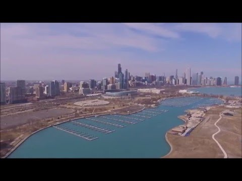Northerly Island, Chicago Drone