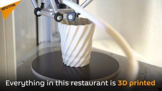 The World's First 3D-Printing Restaurant Opens In London