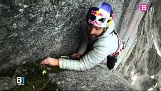 Els germans Pou, dos bascos afincats a Mallorca, obren noves rutes d'escalada a Sibèria