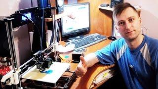 видео 3d принтер печать