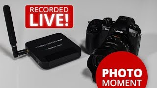 First Test LIVE Streaming with the Epiphan Webcaster X2 & LUMIX GH5