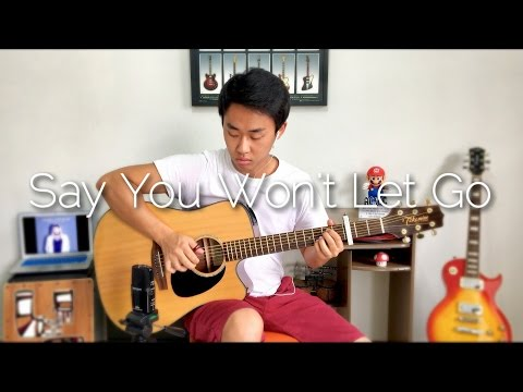 James Arthur Say You Won&39;t Let Go - Rodrigo Yukio Fingerstyle Guitar CoverFREE TABS