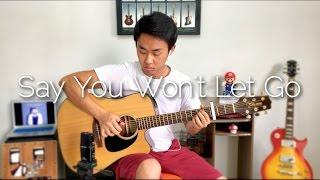 Baixar (James Arthur) Say You Won't Let Go - Rodrigo Yukio (Fingerstyle Guitar Cover)(FREE TABS)