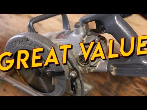 Hall of Fame Tool: Skil Saw HD77 Circular Saw